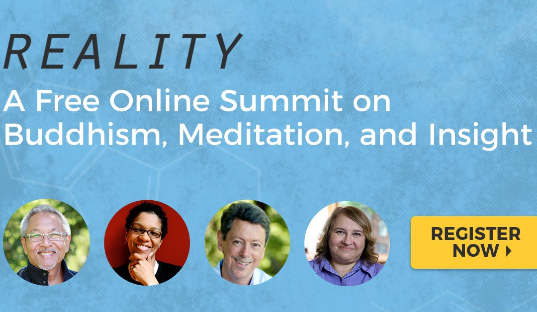 Watch REALITY – an online FREE summit on Buddhism, Meditation and Insight